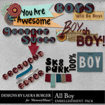 All Boy WordArt-$2.49 (Laura Burger)