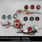 All Boy Alpha Pack-$2.49 (Laura Burger)