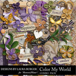 Color My World Combo Pack-$4.99 (Laura Burger)
