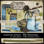 My Sanctuary Add On Embellishment Pack-$2.99 (Jumpstart Designs)