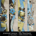 My Sanctuary Borders-$2.49 (Jumpstart Designs)
