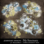 My Sanctuary Scatters-$2.49 (Jumpstart Designs)