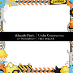 Under Construction Free Border-$0.00 (Adorable Pixels)
