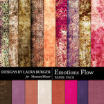 Emotions Flow Paper Pack-$3.49 (Laura Burger)