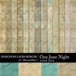 One June Night Paper Pack-$3.49 (Laura Burger)