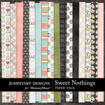 Sweet Nothings JD Paper Pack-$3.49 (Jumpstart Designs)