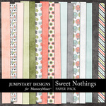 Sweet Nothings JD Add On Paper Pack-$3.49 (Jumpstart Designs)