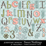 Sweet Nothings JD Alpha Pack-$2.49 (Jumpstart Designs)