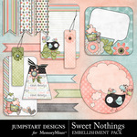 Sweet Nothings JD Journals-$2.49 (Jumpstart Designs)