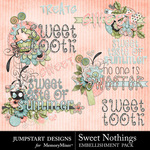 Sweet Nothings JD Titles-$2.49 (Jumpstart Designs)
