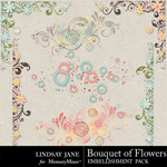 Bouquet of Flowers Scatterz-$1.99 (Lindsay Jane)