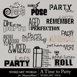 A Time to Party WordArt-$2.49 (Word Art World)