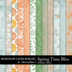Spring Time Bliss Paper Pack-$3.49 (Laura Burger)