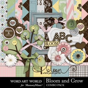 Bloom and grow medium