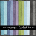 Dont Look Now But Basic Paper Pack-$3.49 (Jumpstart Designs)