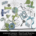 Dont Look Now But Add On Embellishment Pack-$2.99 (Jumpstart Designs)