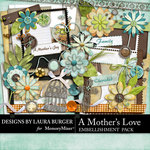 A Mothers Love LB Embellishment Pack-$1.40 (Laura Burger)