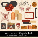 Captain Jack Embellishments-$1.99 (Rusty Pickle)