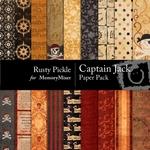 Captain Jack Paper Pack-$3.49 (Rusty Pickle)