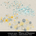 Waves Of Summer Scatterz-$1.99 (Lindsay Jane)