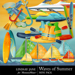 Waves Of Summer Add On Mini Pack-$2.99 (Lindsay Jane)