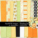 Finding Joy Paper Pack-$3.99 (Fayette Designs)