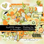 Finding Joy Embellishment Pack-$3.49 (Ettes and Company by Fayette)