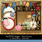 Pure Country Mini Pack-$1.75 (Fayette Designs)