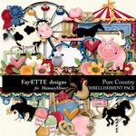 Pure Country Embellishment Pack-$3.49 (Fayette Designs)