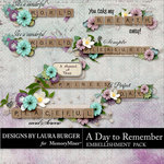 A Day To Remember LB WordArt Pack-$2.49 (Laura Burger)