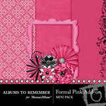 Formal Pink Add On Mini Kit-$3.49 (Albums to Remember)