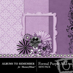 Formal Purple Add On Mini Kit-$3.49 (Albums to Remember)