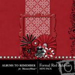 Formal Red Add On Mini Kit-$3.49 (Albums to Remember)