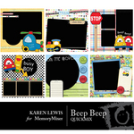 Beep Beep QuickMix-$3.99 (Karen Lewis)