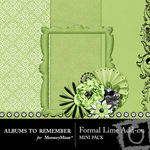 Formal Lime Mini Kit-$3.49 (Albums to Remember)