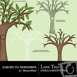 Love Tree Embellishment Pack-$2.99 (Albums to Remember)