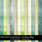 A New Day Solid Paper Pack-$1.40 (Laura Burger)