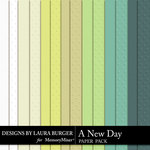 A New Day Texture Paper Pack-$2.49 (Laura Burger)