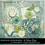 A New Day Add On Embellishment Pack-$3.49 (Laura Burger)
