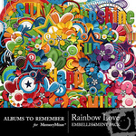 Rainbow Love AR Embellishment Pack-$4.99 (Albums to Remember)