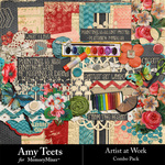 Artist At Work Combo Pack-$2.50 (Amy Teets)