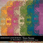 Teen Scene Mats-$1.00 (Laura Burger)