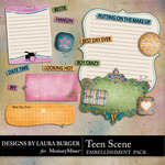 Teen Scene Journals-$1.00 (Laura Burger)