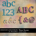 Teen Scene Alpha Pack-$1.00 (Laura Burger)