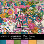 Teen Scene Combo Pack-$2.00 (Laura Burger)
