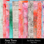Art Ethos Patterned Paper Pack-$3.49 (Amy Teets)