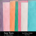 Art Ethos Solid Paper Pack-$2.99 (Amy Teets)
