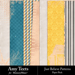 Just Believe Paper Pack-$3.49 (Amy Teets)