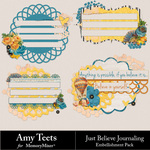 Just Believe Clusters-$2.49 (Amy Teets)
