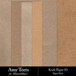 Kraft Paper Pack 3-$2.99 (Amy Teets)